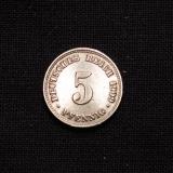 5 Pfennig 1909 D Germany