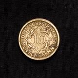 10 Rentenpfennig 1924 J Germany