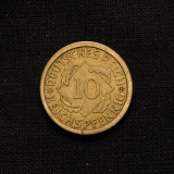 10 Reichspfennig 1925 A Germany