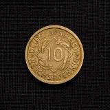 10 Reichspfennig 1935 E Germany