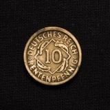 10 Rentenpfennig 1924 G Germany