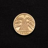 5 Reichspfennig 1924 J Deutschland