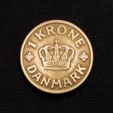 1 Krone 1926 HCN GJ Dänmark