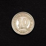 10 Cents 1950 Malaya