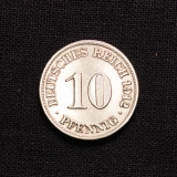 10 Pfennig 1912 A Deutsches Reich