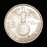 2 Reichsmark 1939 A Deutsches Reich