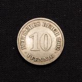 10 Pfennig 1902 E Deutsches Reich (Rarität)
