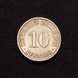 10 Pfennig 1911 A Deutsches Reich