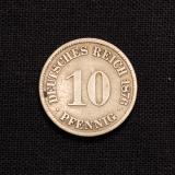10 Pfennig 1876 A Deutsches Reich
