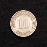 10 Pfennig 1908 G Deutsches Reich (Rarität)