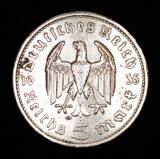 5 Reichsmark 1935 E Deutsches Reich