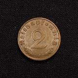 2 Reichspfennig 1939 J Deutsches Reich