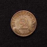 2 Reichspfennig 1938 J Deutsches Reich