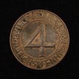 4 Reichspfennig 1932 A Deutsches Reich