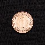 1 Reichspfennig 1938 J Deutsches Reich