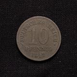 10 Pfennig 1917 Deutsches Reich (Rarität)