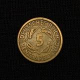 5 Rentenpfennig 1924 A Deutsches Reich