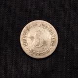 5 Pfennig  1875 C Deutsches Reich