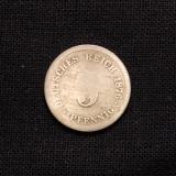 5 Pfennig 1876 J Deutsches Reich