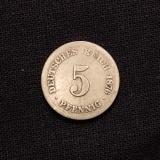 5 Pfennig 1876 C Deutsches Reich