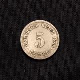 5 Pfennig 1888 A Deutsches Reich