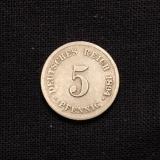 5 Pfennig 1894 G Deutsches Reich