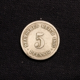 5 Pfennig 1895 F Deutsches Reich
