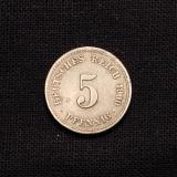 5 Pfennig 1900 A Deutsches Reich