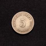 5 Pfennig 1901 E Deutsches Reich