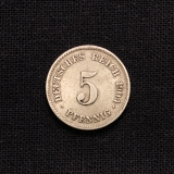 5 Pfennig 1904 E Deutsches Reich