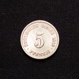 5 Pfennig 1912 J Deutsches Reich