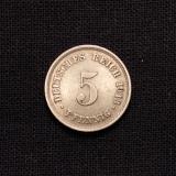 5 Pfennig 1913 E Deutsches Reich