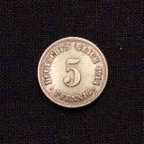 5 Pfennig 1914 A Deutsches Reich