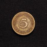 5 Pfennig F 1950 Deutschland