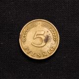5 Pfennig J 1950 Deutschland