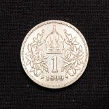 1 Corona 1899 KB Haus Habsburg Franz Joseph I Ungarn
