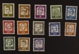 Bedeutende Deutsche Wz.5 fluoreszierendes Papier 1961