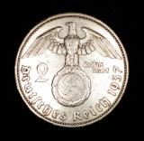 2 Reichsmark 1937 A Deutsches Reich