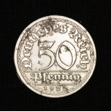 50 Pfennig 1922 J Deutsches Reich
