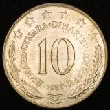 10 Dinar 1981 Jugoslawien