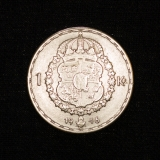 1 Krone 1946 Gustaf V. (1907 - 1950) Schweden